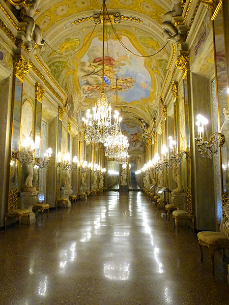 galerie des glaces palazzo reale 3