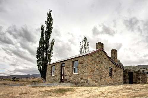 old newzealand house building abandoned home stone century colonial cottage nz otago aged 19th fruitlands oldandbeautiful oncewashome