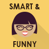 Smart and Funny Icon