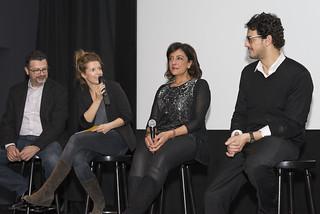 Diskussion nach der Filmpremiere in Berlin. Foto: Tobias Pietsch