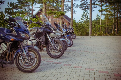 Montenegro Classic motorcycle tour - May 2013