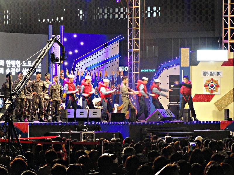 Performances at City Hall Plaza, Seoul
