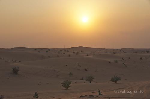 【写真】世界一周 : ドバイ・砂漠(1日目)
