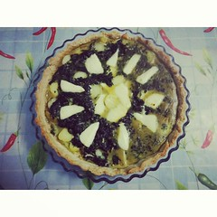 #spinach , #potato and #goat 's #cheese #tart #coujina125 #food #foodpron #instafood  #foodblogger #foodblog #picoftheday #photooftheday #healthy #diet #nutrition #lunch