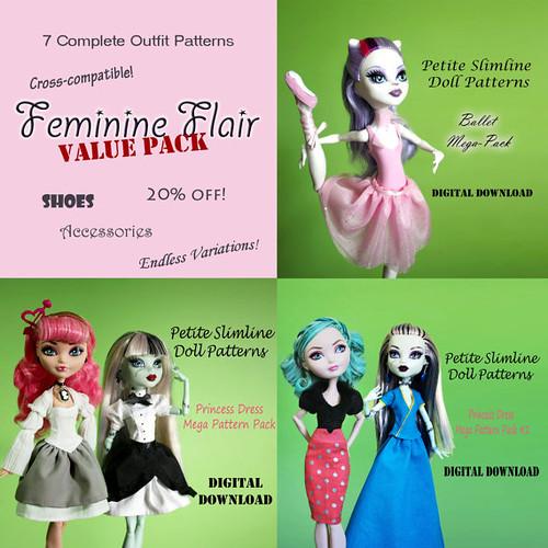 feminine flair