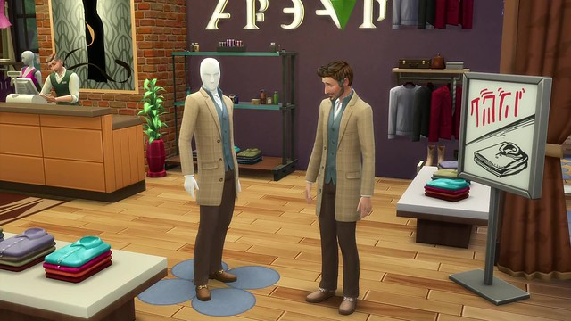 The Sims 4 Get to Work- Official Retail Gameplay Trailer 1005