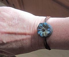 Flower Slide Bracelet