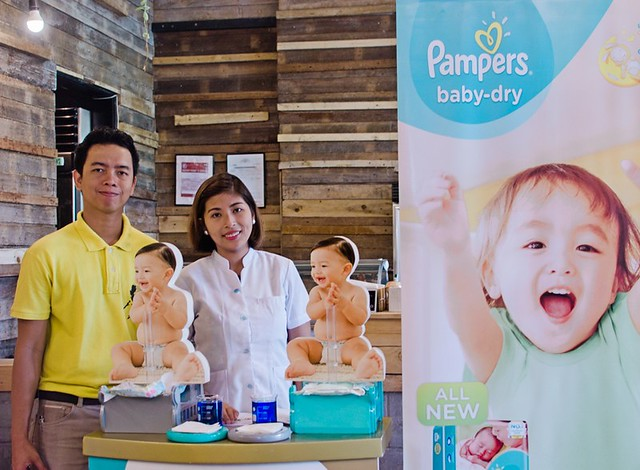 pampers at mindful mom re-treat