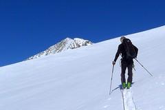 Skitouren-Wochenende Großvenediger, 3667 m, Hohe Tauern. Foto: Johannishütte.