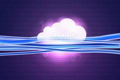 Fiberglass Cloud - Symbol - blue pink