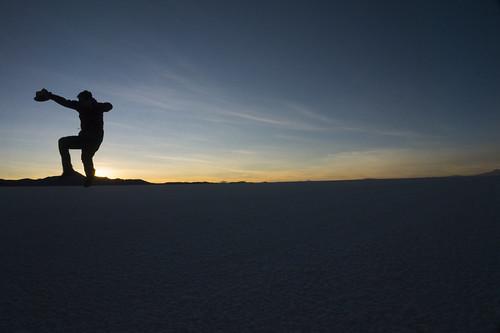 Saltando la montaña