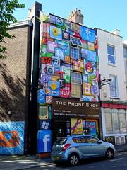 Mural in Stokes Croft, Bristol