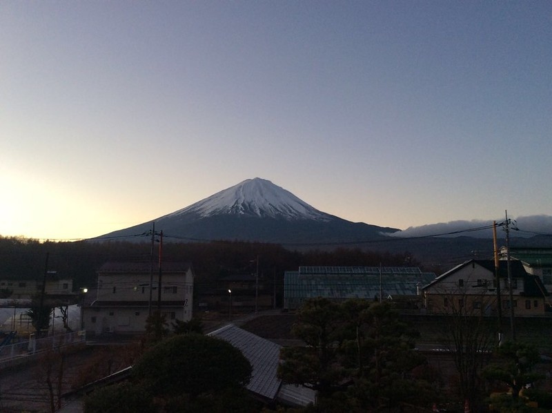 【2014 富士山馬拉松旅行】日本河口湖住宿推薦 – 夢幻富士山美景的小林民宿