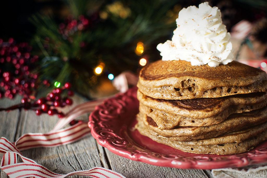 Gingerbread Pancakes Recipe | PasstheSushi.com