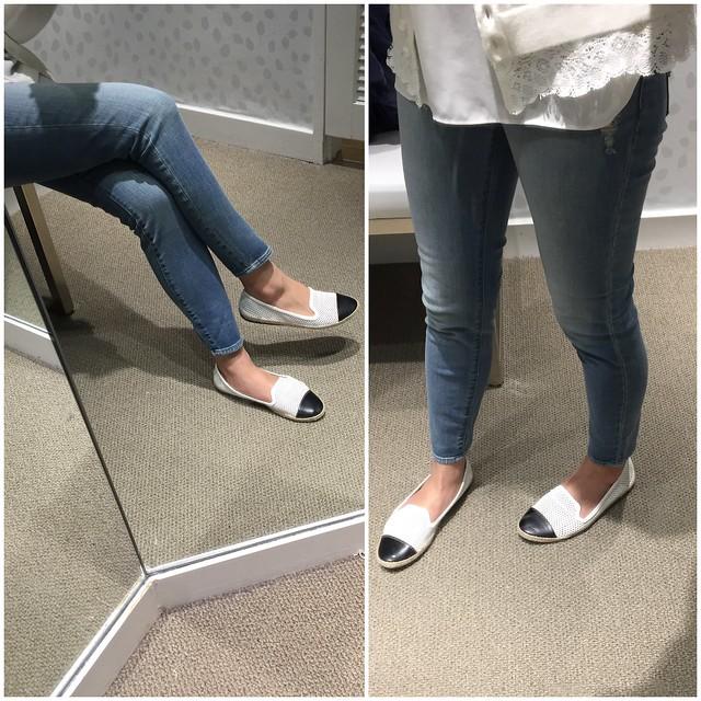 LOFT Modern High Waist Skinny Ankle, size 24/00 petite