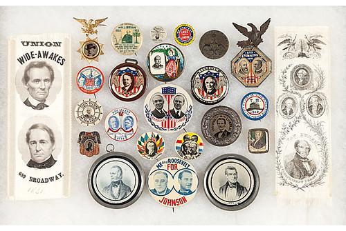 Berman collection of political memorabilia