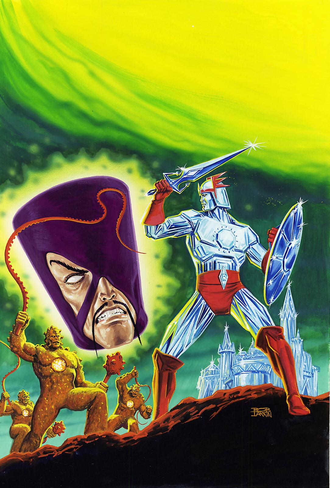 Bob Larkin - Saga of Crystar, Crystal Warrior (Marvel, 1984)