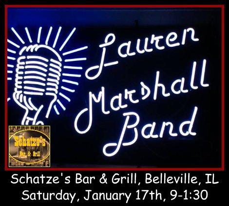 Lauren Marshall Band 1-17-15