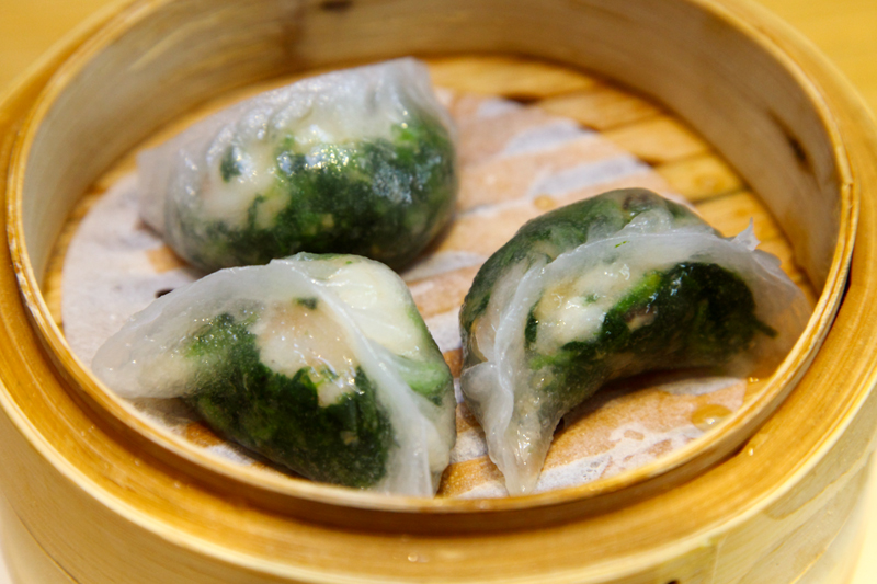 Steamed-Spinach-Dumpling-with-Shrimp