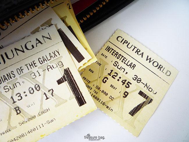 Just like the old times_Interstellar movie ticket