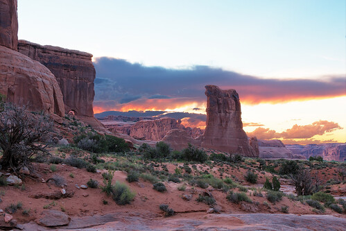 sunset southwest 35mm landscape prime evening utah nationalpark nikon desert tripod arches moab archesnationalpark d7100