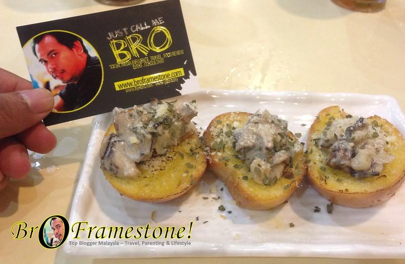 Mushroom Bruchetta - Next Station BTGF, Seksyen 13, Shah Alam