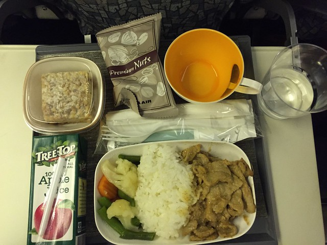 Food at Eva Air