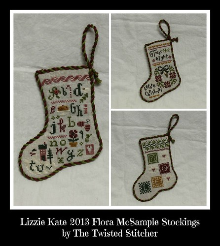 Flora McSample 2013 Sampler Stockings