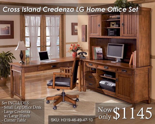 Cross Island Credenza (LG) - Priced