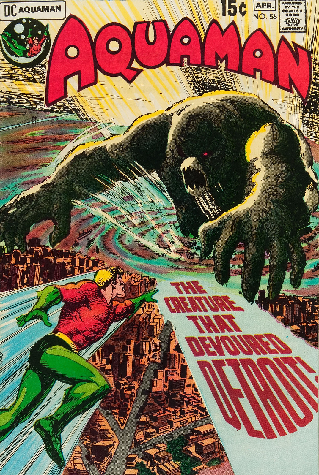 Aquaman #56 (DC, 1971) Nick Cardy Cover