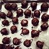 Mom's pecan pie balls have become chocolate salty balls. Haha! #southpark #nevergrowingup #dipmyballsinit