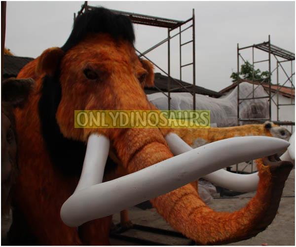 Cartoon Mammoth Model on Sale