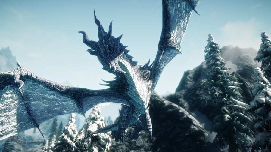 Elemental Dragons at Skyrim Nexus - mods and community