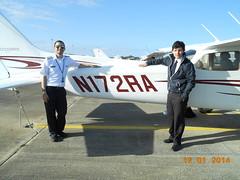 Juan Torres Student Pilot SOLO Flight