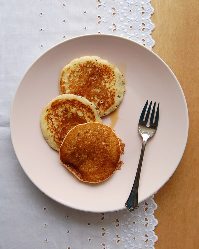 Buttermilk pancakes / Panquecas de buttermilk