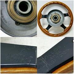 #For#Sale#Used#Parts#Mercedes#Benz#R107#W123#W124#W126#alyehliparts#alyehli#UAE#AbuDhabi#AlFalah#City  FOR SALE MERCEDES BENZ USED PARTS :  - VICTOR WOOD STEERING WHEEL   - FIT : R107/W123/W124/W126/W201  - MADE IN ITALY   - WEIGHT : 2.30 Kgm   Price :