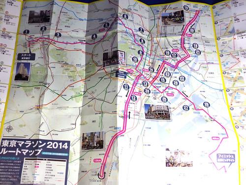 TOKYO-Marathon Course