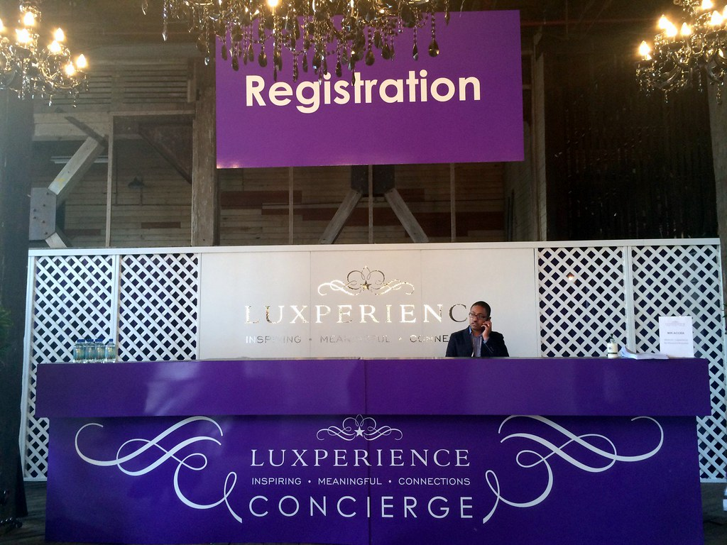 LuxPerience booth registration