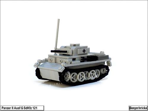 Panzer II Ausf G de Panzerbricks