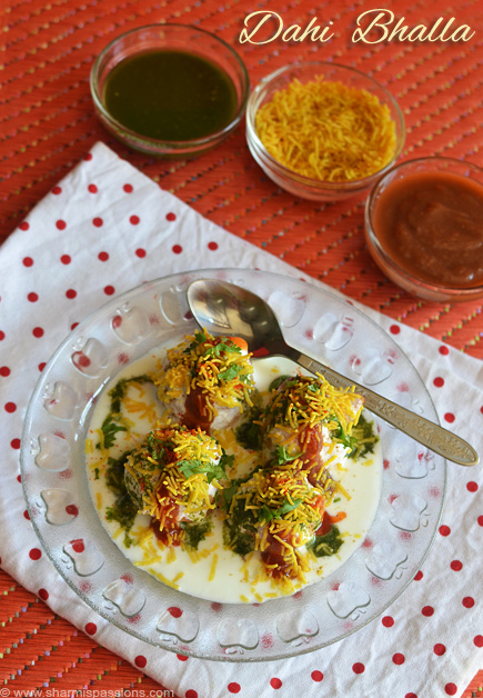 Dahi Vada Recipe | Dahi Bhalla North Indian Style