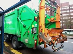 Bin lorry - Broad Street - Five Ways
