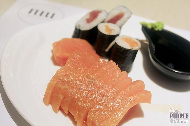 More Salmon Sashimi