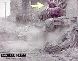 坦克战:活活烧死18