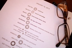The Alinea experience, Chicago