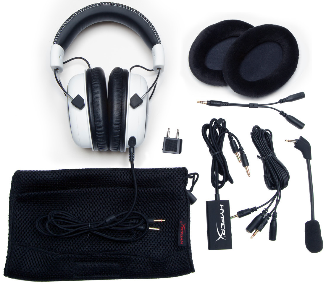 kingston hyperx cloud headset lieferumfang