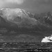 The MV Hebridies Heading to Arran by Peter Ribbeck