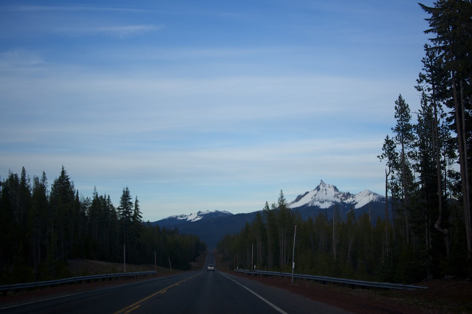 Starting the drive back to Eugene, OR