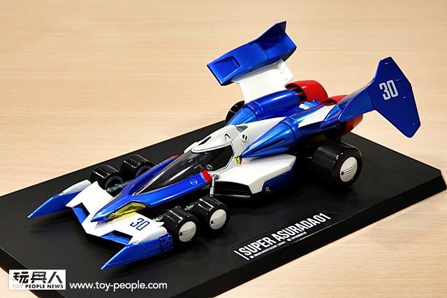 【好評再推出!】傳奇賽車華麗再臨!《閃電霹靂車》超級阿斯拉01 金屬配色版 搶先公開!