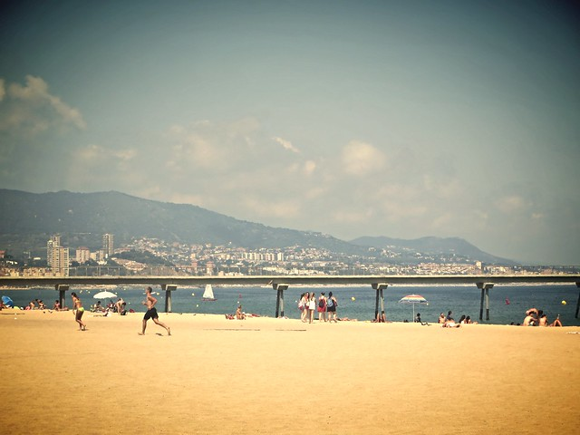 badalona beach, reasons to visit barcelona, things to do in barcelona
