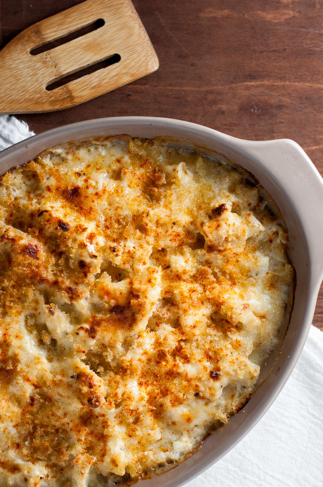 Roasted Garlic And Cheddar Cauliflower Gratin Recipes — Dishmaps